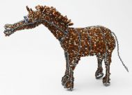 LG Beaded Wire Horse