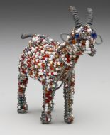 SM Beaded Wire Goat