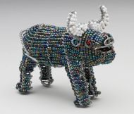 SM Beaded Wire Buffalo