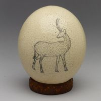 San Ostrich Egg Shell