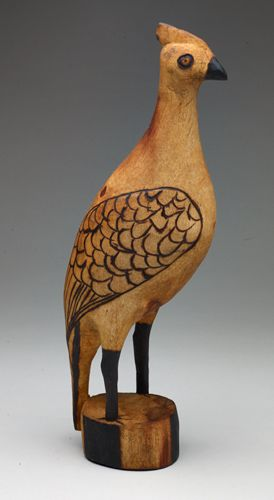 Wood Guinea Fowl