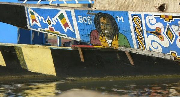 Ndalama african deserts crafts traveling along the niger for Bob marley mural san francisco