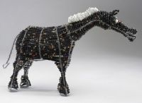 LG Bead and Wire Horse