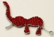 Beaded Wire Elephant