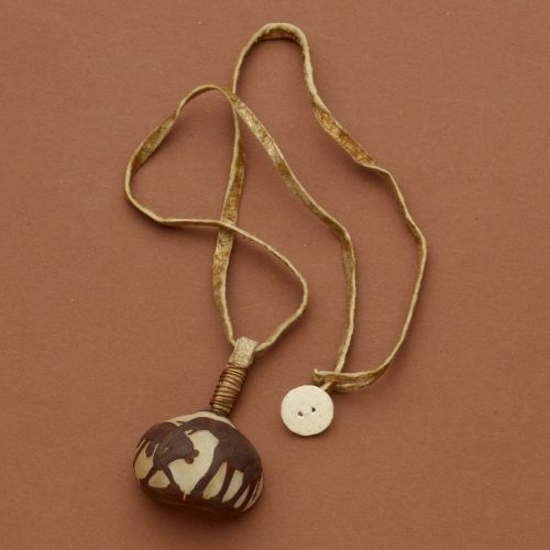 Half Mok Nut Necklace