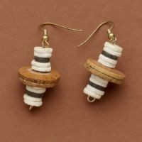 San O Shell Earrings