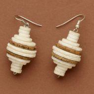 San O Shell Earrings